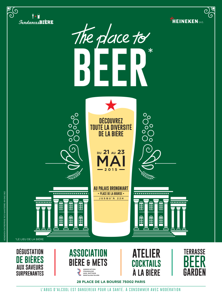 affiche the place to beer tendances biere