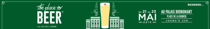 «The Place to Beer» est au Palais Brongniart !