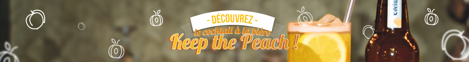 Focus sur le cocktail fruité à la bière : Keep The Peach